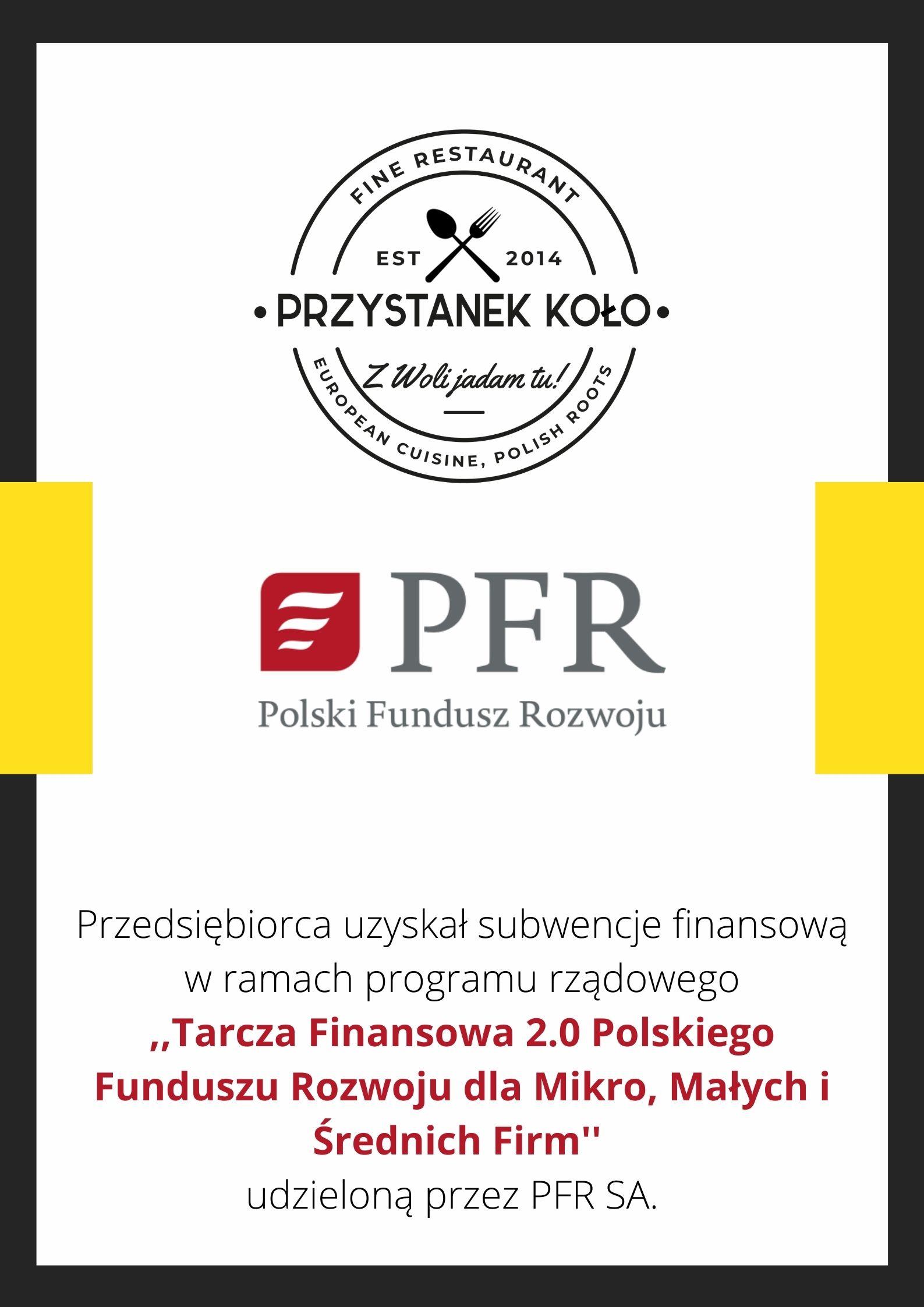 Przedsiębiorca uzyskał subwencję finansową z PFR